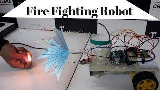 Download Diy Fire Fighting Robot Using Arduino MP3, MKV, MP4