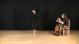 Explicación de baile por martinete: Escobilla completa