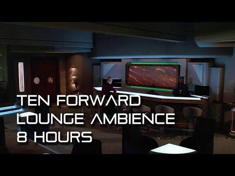 "Star Trek: TNG ""Ten Forward Lounge"" Background Ambience *8 Hours* sleep/study aid"