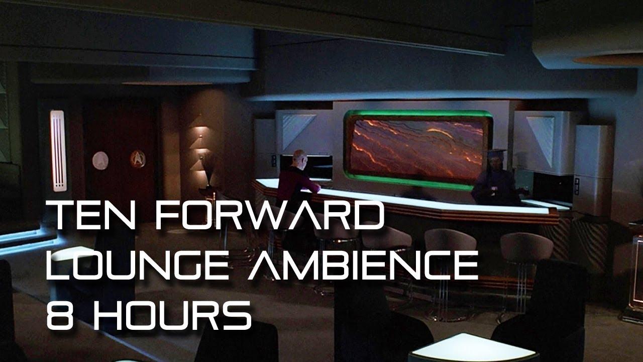 Star Trek Tng Ten Forward Lounge Background Ambience 8