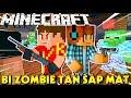 Minecraft | KIA VÀ VAMY B? B?N ZOMBIE TÁN S?P M?T H?P DIÊM | KiA Ph?m