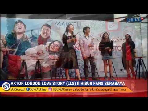 Rosa Hibur Masyarakat Surabaya Nyanyikan Soundtrack London Love Story