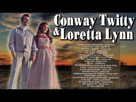 Loretta Lynn And Conway Twitty Greatest Hits Country Duets Male And Female - Best Old Country Hits