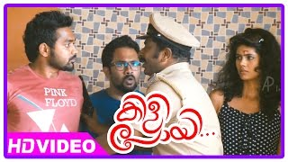 Kilipoyi Malayalam Movie | Police arrests Sampath Raj | Asif Ali | Aju Varghese | Fight Scene |