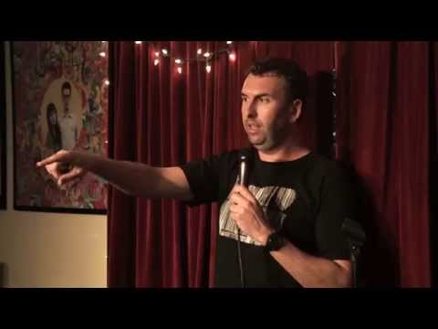 Matt Braunger at the SideOneDummy Storytellers Show