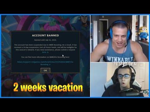 Tyler1 made a mistake | Tarzaned banned for Boosting | LoL Daily Moments Ep 524