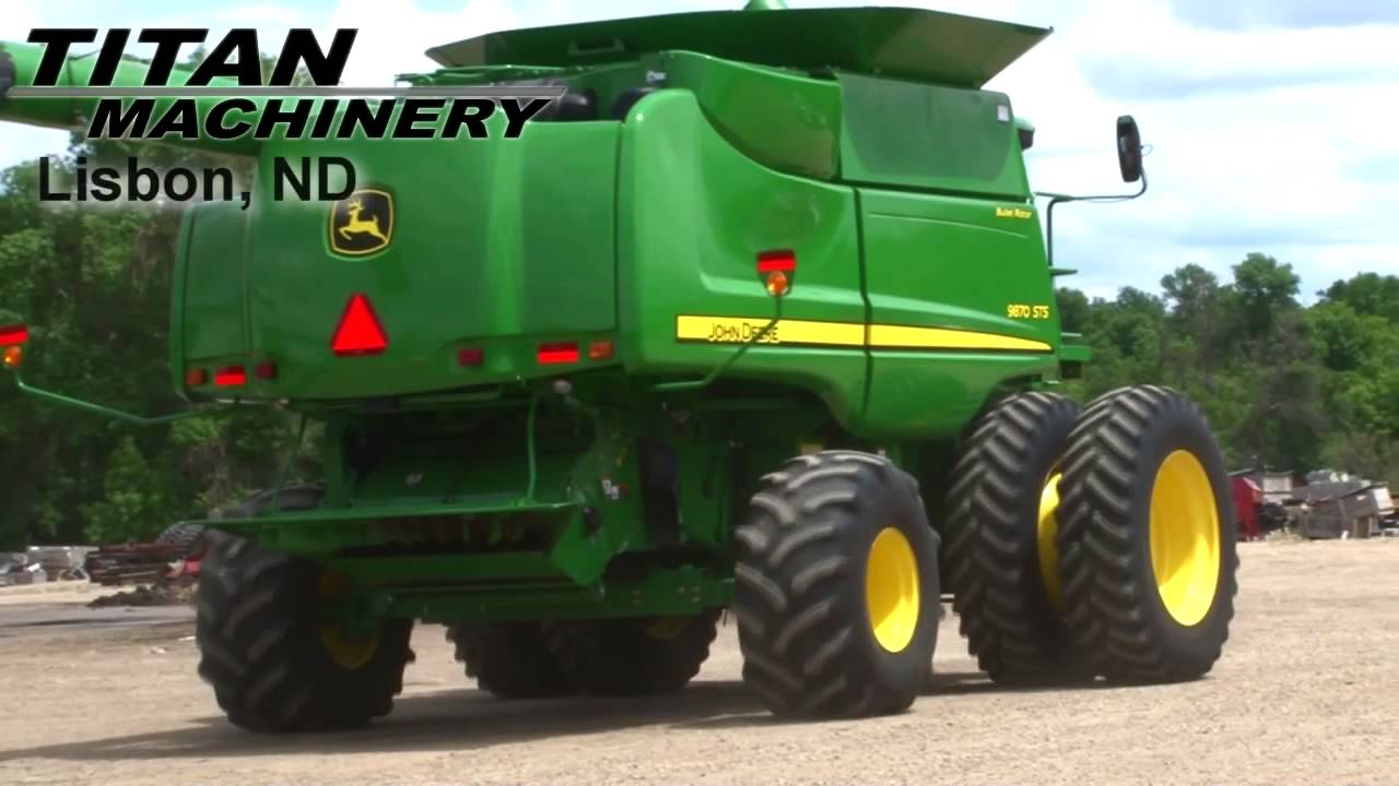 John Deere Sts 9870 Combine For Sale Youtube