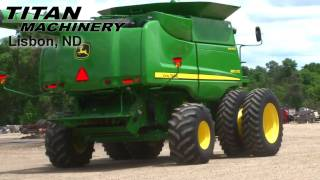 John Deere STS 9870 Combine For Sale
