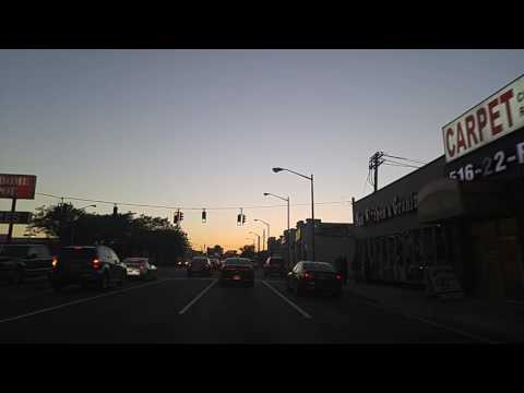 Driving from Merrick to Freeport,New York