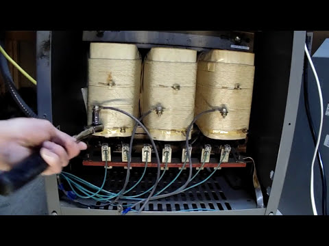 three phase transformer hook up