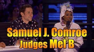 Samuel J. Comroe Judges Mel B As She Fails Epically Americas Got Talent 2018 Highlight|GTF