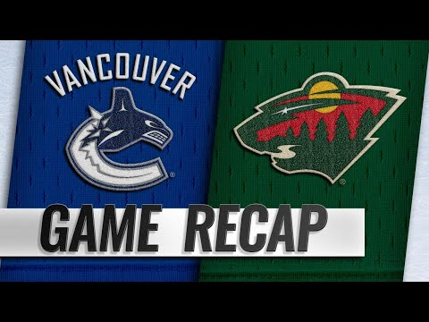 Koivu records three points as the Wild win, 6-2