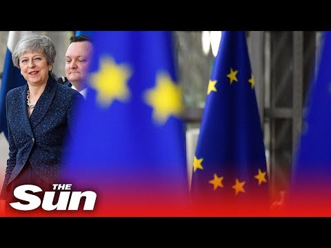 Leaders arrive for crunch EU Council talks with Theresa May   Brexit LIVE
