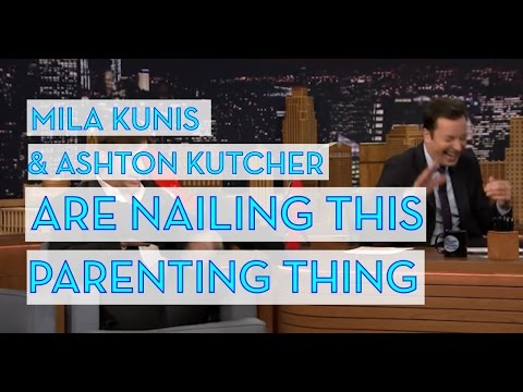 Mila Kunis and Ashton Kutcher Are Nailing This Parenting Thing
