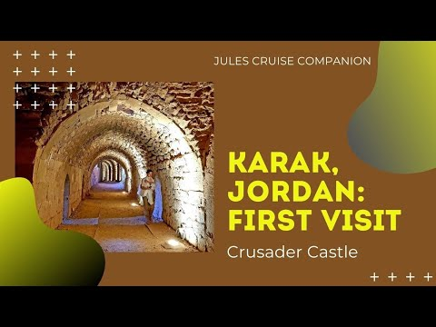 Karak Castle Jordan 2018.Crusader Castle