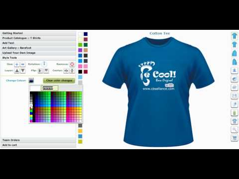 T Shirt Maker And Custom Application Tool Creator Or T