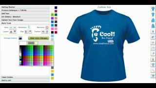 T-Shirt Maker and Custom Application Tool, Creator or T-Shirt Design Software by CBSAlliance.com