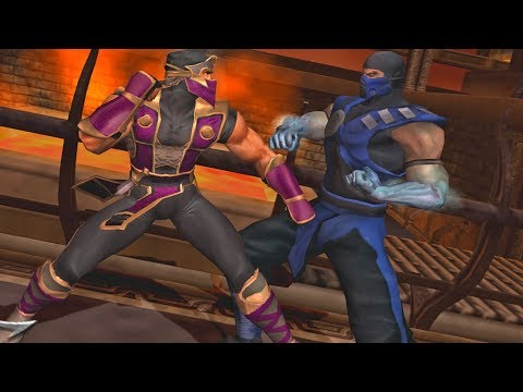 [TAS] Mortal Kombat Armageddon RAIN (TRAJE ALTERNATIVO) VERY HARD (PS2) thumbnail