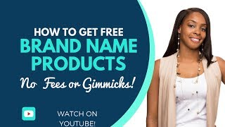 Live Unboxing! Get Free Brand Name Products, No Fees or Gimmicks