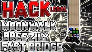 EL HACK LEGAL PARA HACER BREEZILY BRIDGE, MOONWALK Y FAST BRIDGE | Minecraft