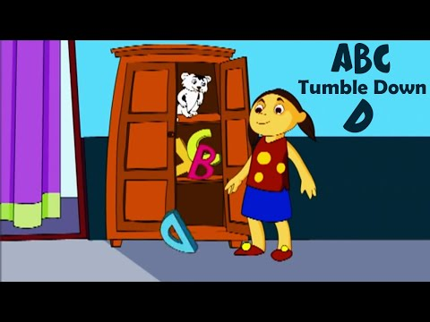 ABC Tumble Down D | Nursery Rhyme for Kids - Animated Songs for Children