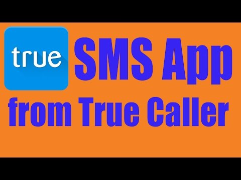 New SMS Application from True Caller