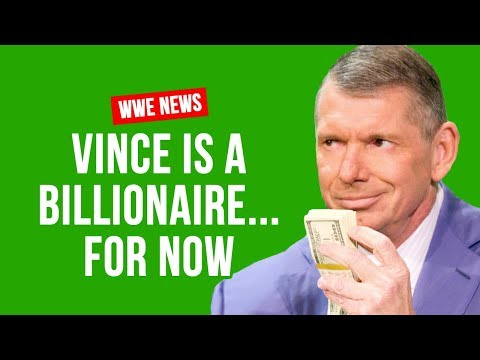 Vince McMahon Still A Billionaire... But For How Long?