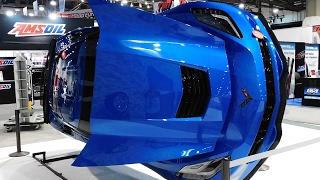 2017 Chevrolet Corvette Underside Display The SEMA Show 2016