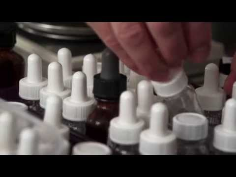 A Perfumer's Workspace