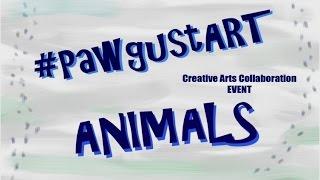 #pawgustart - Animal Tracks