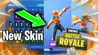 """The New Skin """"SOLAIRE"""" with some Emote and Dance of FORTNITE BATTLE ROYALE"""