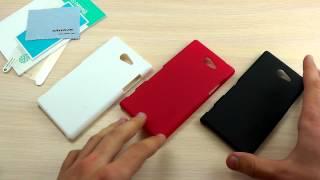 Обзор: Стильный Пластиковый Чехол-Накладка для Sony Xperia M2 D2305/ D2302 Dual