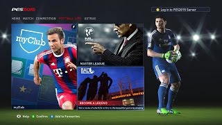 Pro Evolution Soccer 2015 PC Gameplay 1440p (2560x1440) Become a Legend