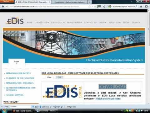 Download and install EDIS Local inminutes