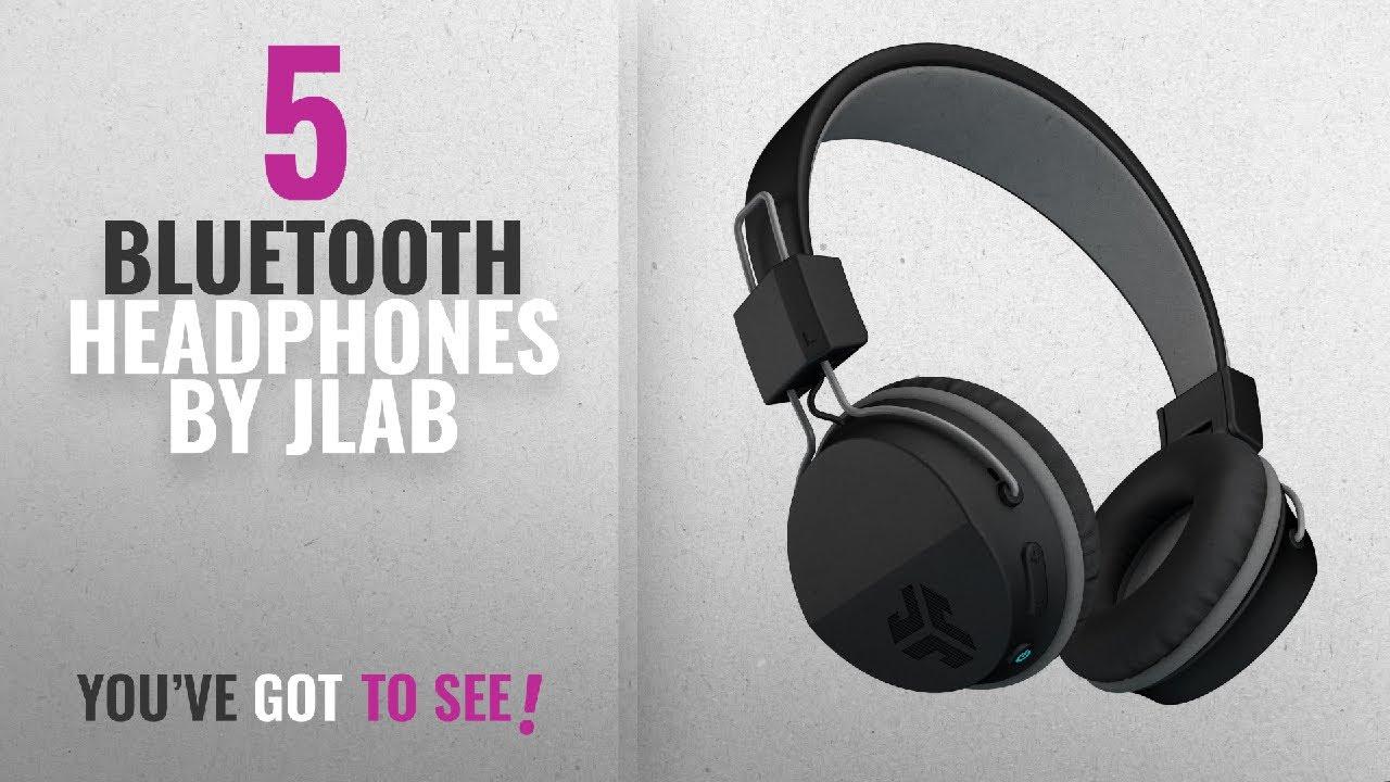 40c148ef170 Top 5 Jlab Bluetooth Headphones [2018]: JLab Audio Neon Bluetooth Folding  On Ear ...