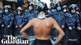 We fear hunger, not coronavirus: Lebanon protesters return
