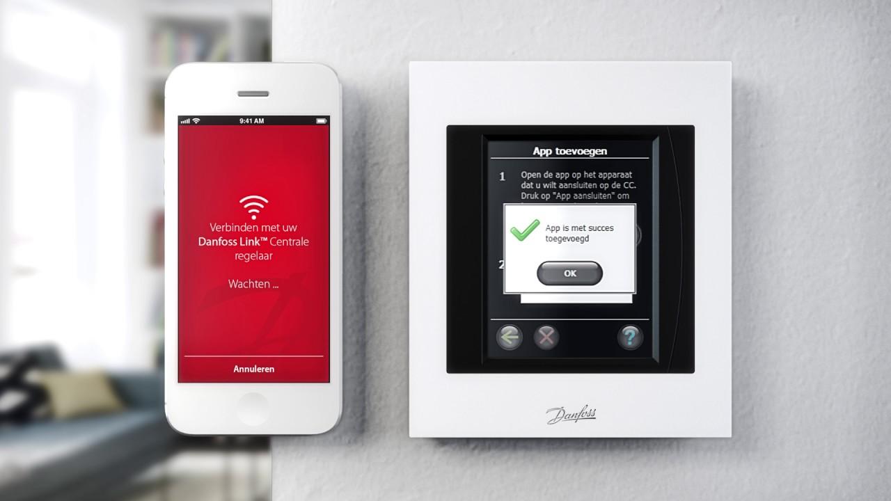 Vaak Danfoss Smart heating - Danfoss LINK DW68