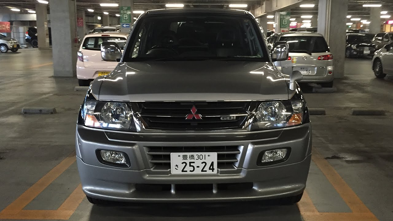 Mitsubishi Pajero Super Exceed 2000 Walk Around