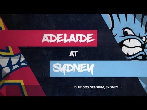 REPLAY: Adelaide Bite @ Sydney Blue Sox, R1/G3