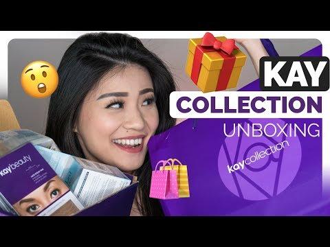 Unboxing Produk Makeup Kay Collection | Ulasan Produk Kecantikan Bahasa Indonesia