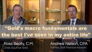 "Mining Insights w/ Ross Beaty, Chair, Equinox Gold (TSX: EQX) ""Gold has Fabulous Macro Fundamentals"""