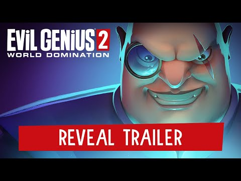 Evil Genius 2: World Domination – Reveal Trailer | PC