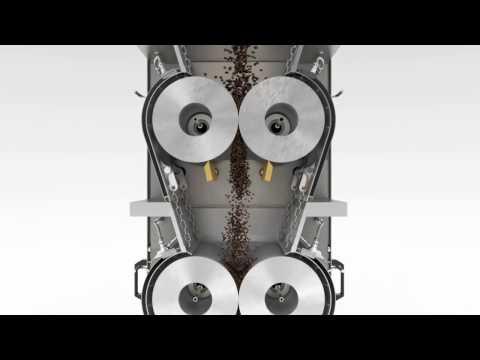3D Messefilm PROBAT Industrie-Kaffeemühle