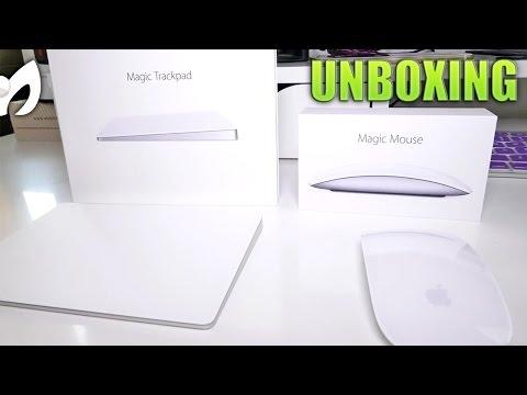 TRACKPAD 2 + MAGIC MOUSE 2 #Apple (#Unboxing y Comparación)