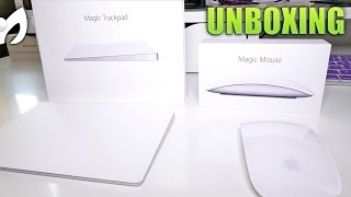 TRACKPAD 2 + MAGIC MOUSE 2 #Apple (#Unboxing y Comparación)