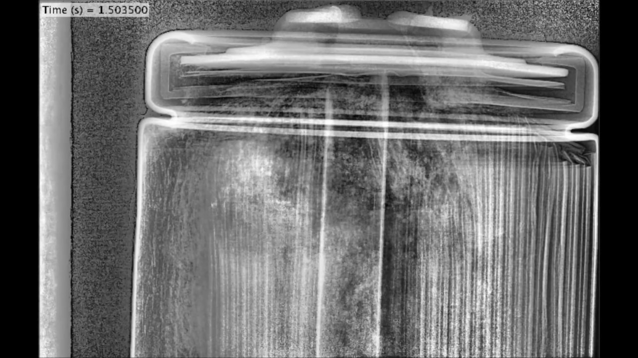 Lithium Ion Battery >> High-speed X-ray imaging: Thermal runaway within a Panasonic 18650 Li-ion battery - YouTube