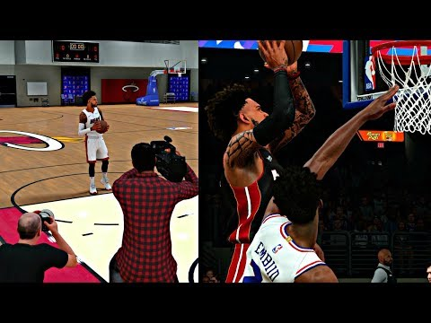 NBA 2K18 MyCAREER - JORDAN BRAND PHOTO SHOOT! JOEL EMBIID WANTS TO BE FRIENDS AFTER I DUNKED ON HIM!