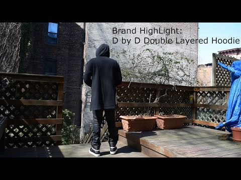 Brand Spotlight: D by D Black Layered Drop-Tail Hoodie Review