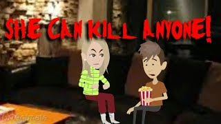 She can kill anyone! scary story (Animated in Hindi) |IamRocker|