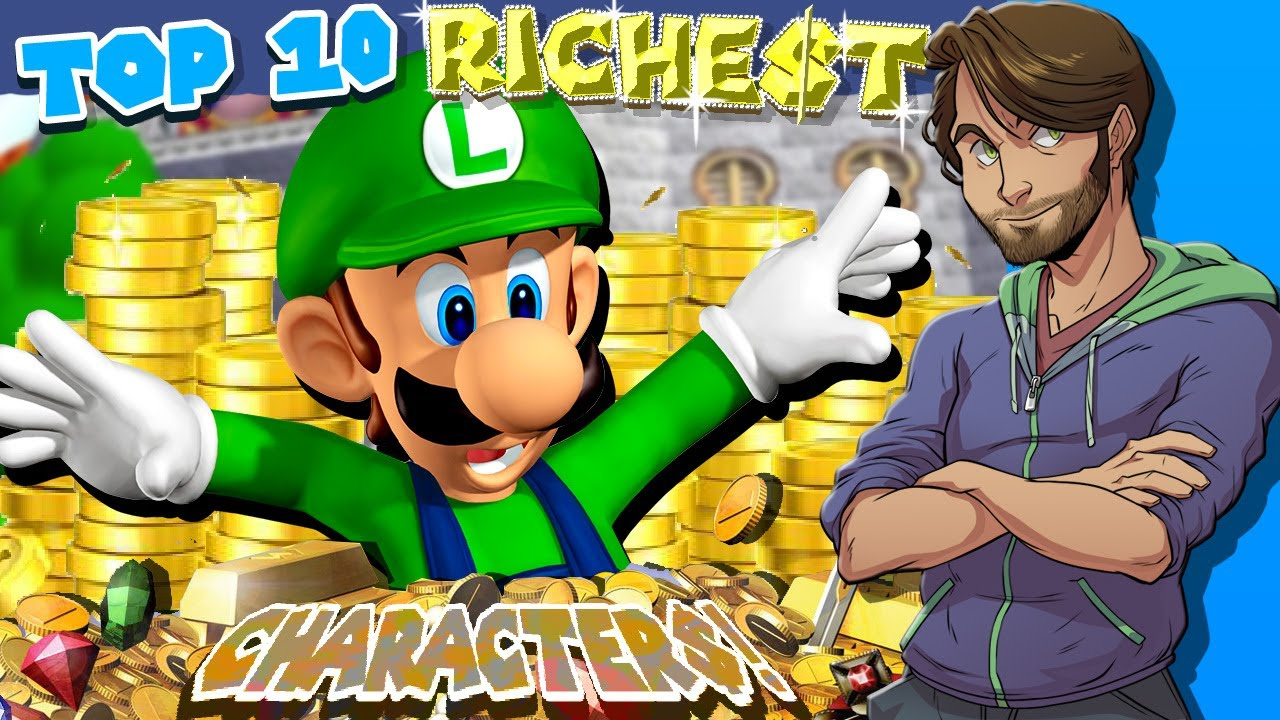 Top 10 RICHEST Characters in Video Games - SpaceHamster